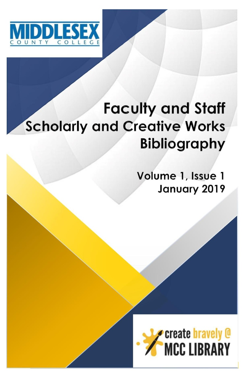 MCC Works Bibliography, Volume 1 Issue 1, January 2019