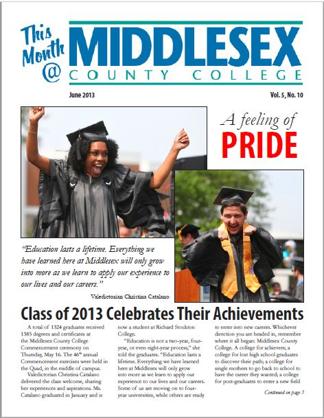 This Month @ Middlesex County College June 2013